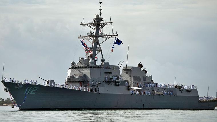 美军军舰暴发大规模新冠疫情 300名舰上船员近四分之一受波及