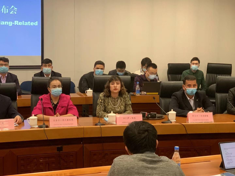 新疆教培中心学员:不存在被强制绝育情况