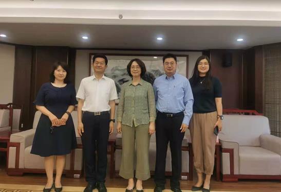 李荣会见西门子(中国)有限公司副总裁一行