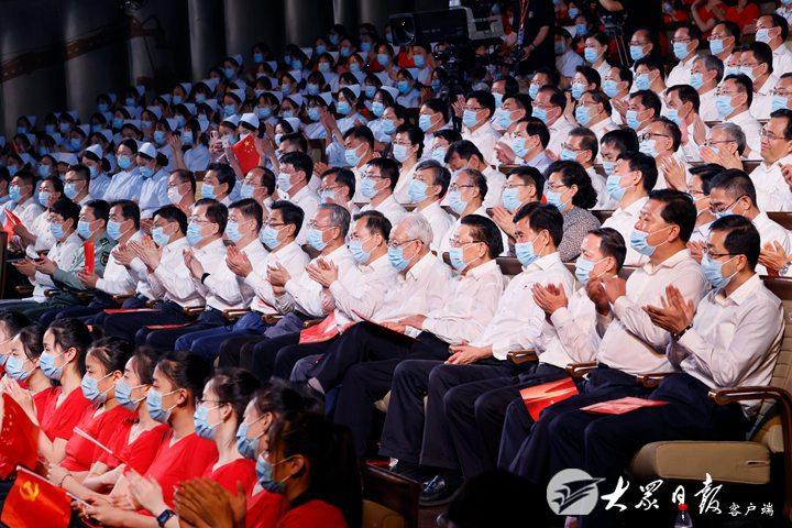 《【迅达平台网】山东省庆祝中国共产党成立100周年文艺演出举行》