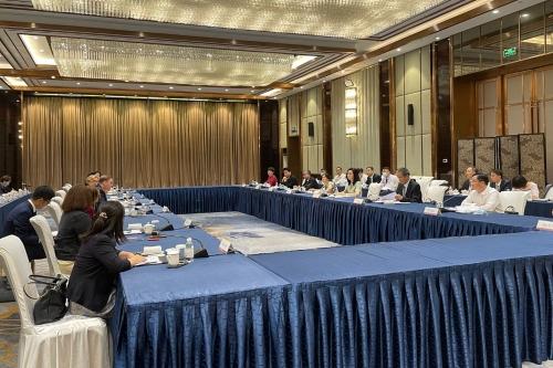 陈白薇出席山东—美国医养健康圆桌会议