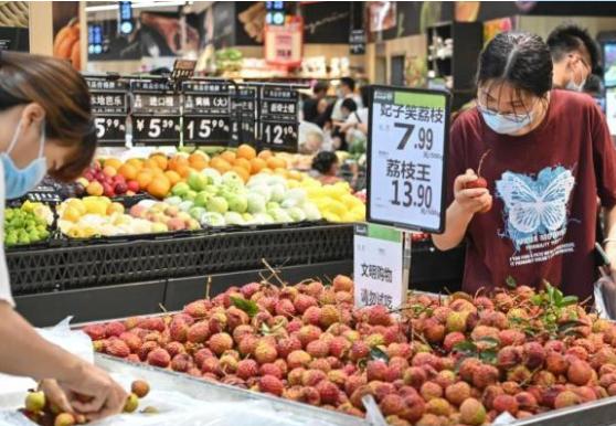 2021年7月份CPI同比漲(zhang)幅(fu)回落 PPI漲(zhang)幅(fu)略za)欣┐da)