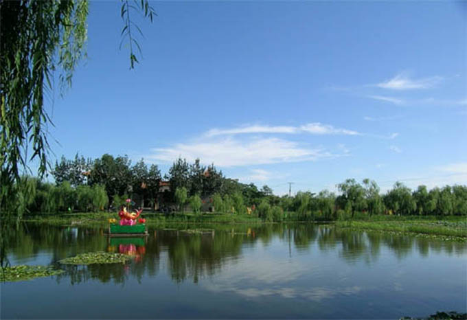 马踏湖国家水利风景区位于桓台县