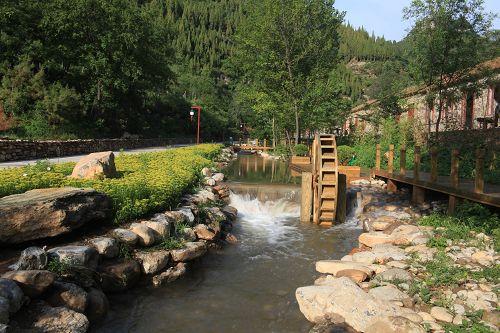 青州泰和山风景区图片分享; 青州泰和山黄花溪青州黄花溪旅游景点青州